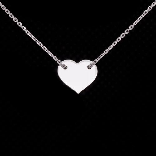 2f057c7807c20f Srebrna celebrytka, serce, serduszko, heart, srebro 925 Pracownia ...